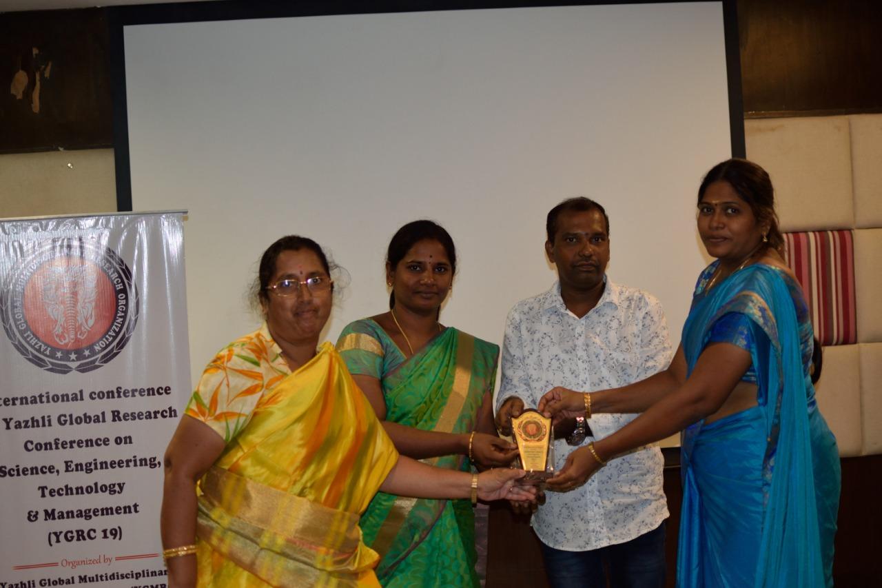 YGRC19 - Best Paper Award under Computer Science Track